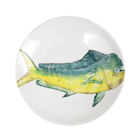Vietri Pesca Mahi Mahi Shallow Bowl