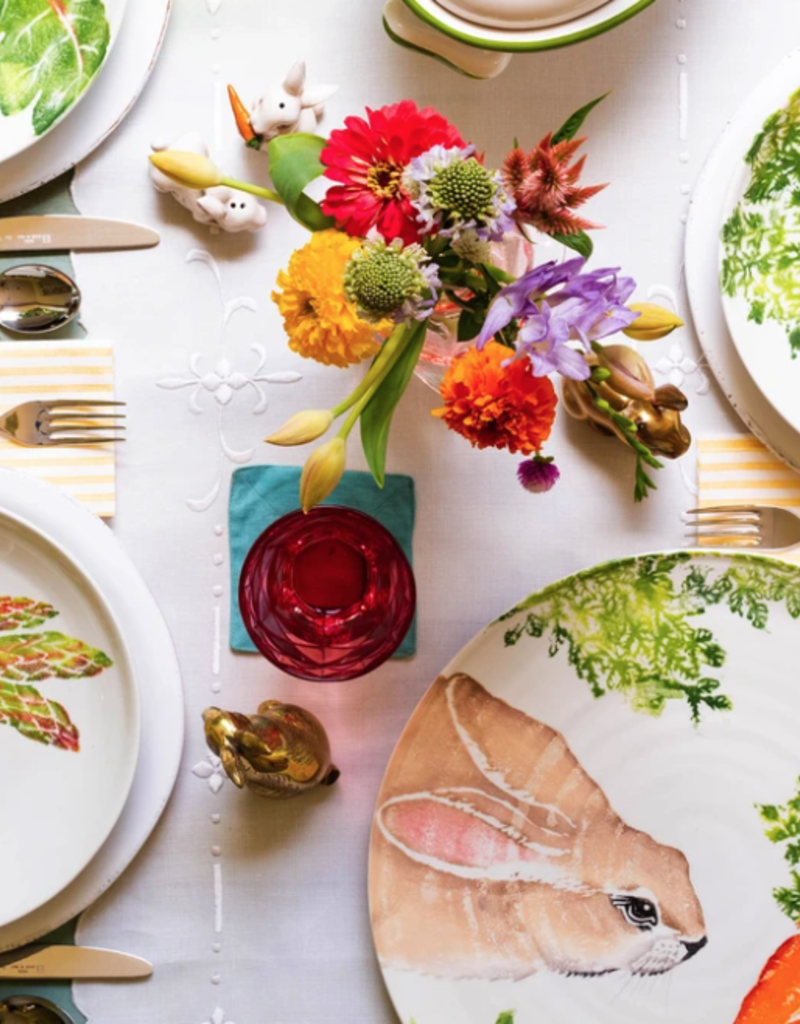 Vietri Spring Vegetables Round Platter