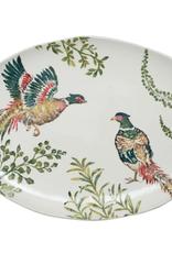 Vietri Fauna Pheasants Large Oval Platter
