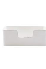 Vietri Lastra White Guest Towel Holder