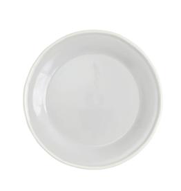 Vietri Chroma Salad Plate - Light Gray
