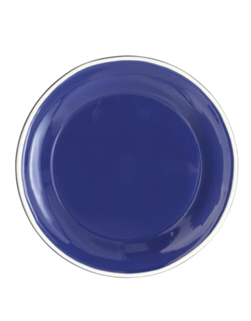 Vietri Chroma Salad Plate - Blue