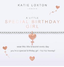 Katie Loxton Kids' a little Special Birthday Girl Bracelet