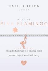 Katie Loxton Kids' a little Pink Flamingo Bracelet