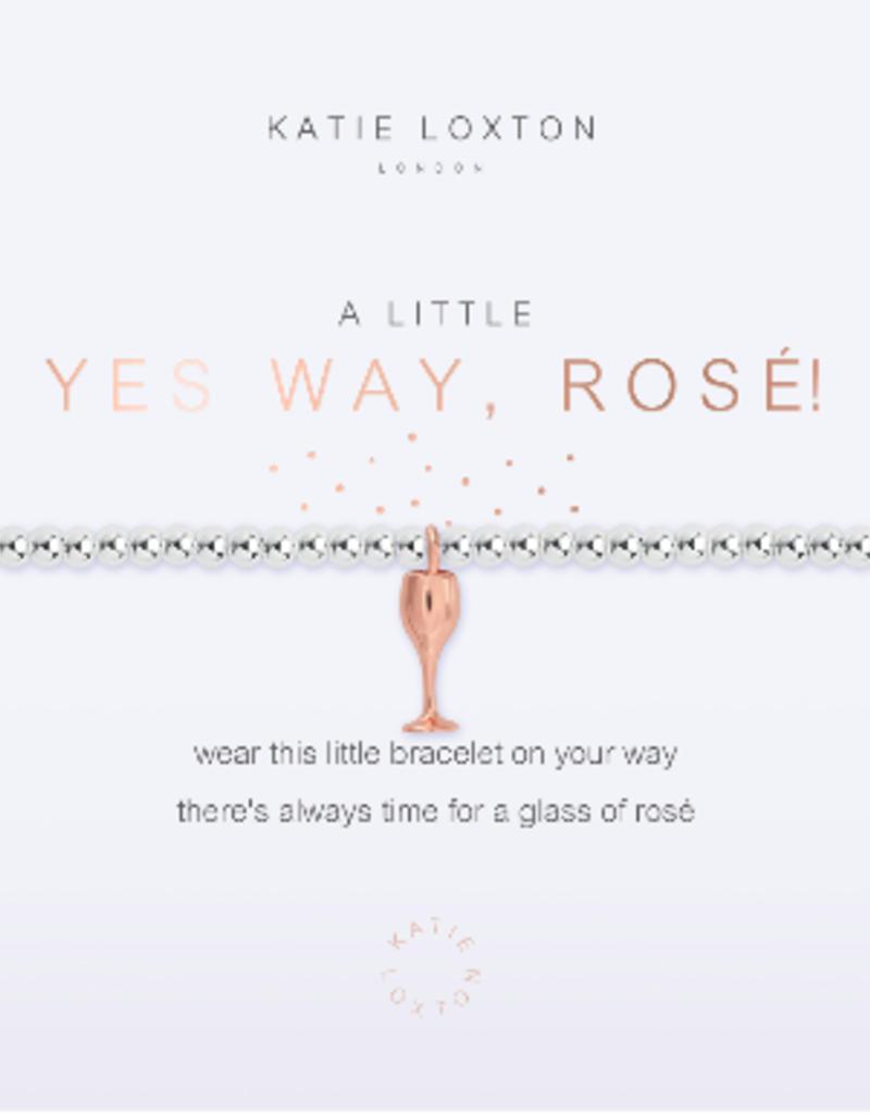 Katie Loxton a little Yes Way, Rose! Bracelet