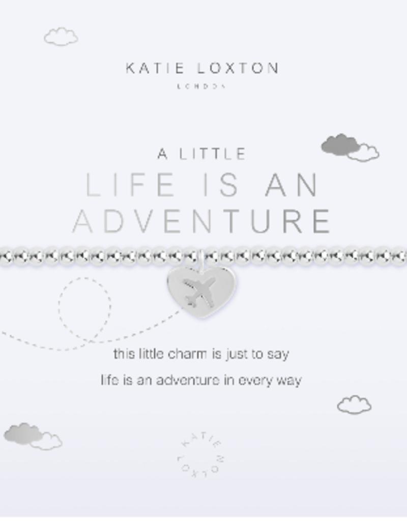 Katie Loxton a little Life Is An Adventure Bracelet