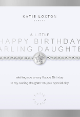 Katie Loxton a little Happy Birthday Darling Daughter Bracelet