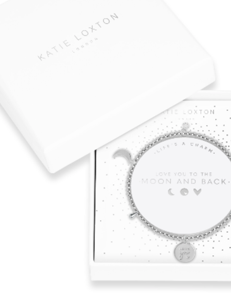 Katie Loxton Life's A Charm Bracelet  Love you to the moon and back
