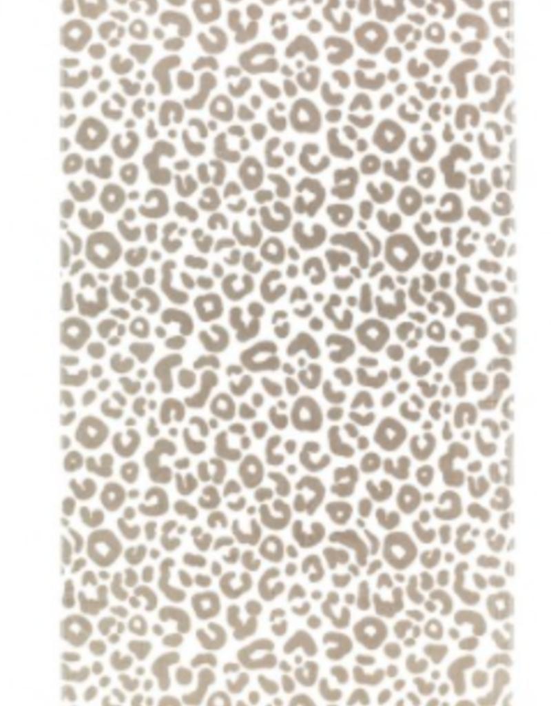 Natural Leopard Blanket