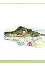 Alligator Quilling Card