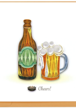 Birthday Beer Quilling Card