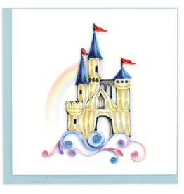 Castle in the Clouds Quilling Card