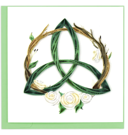 Celtic Trinity Knot Quilling Card
