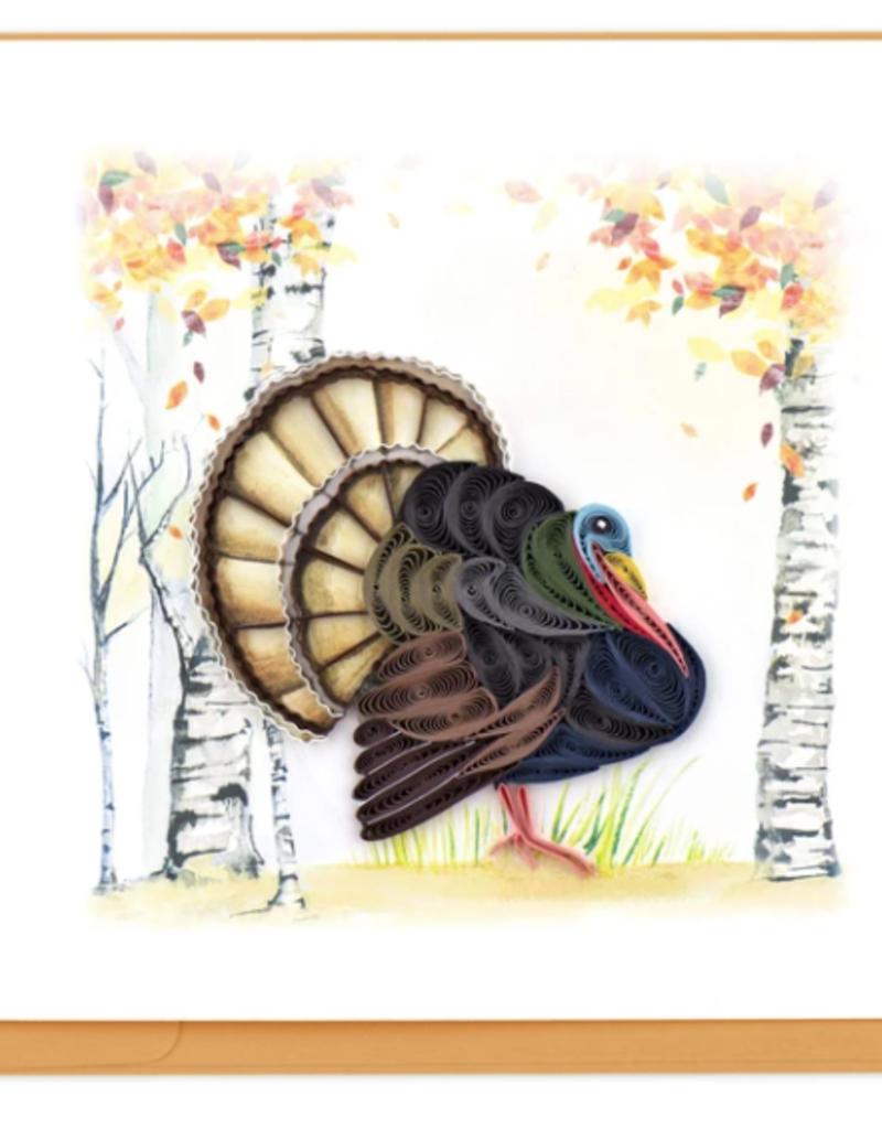 Wild Turkey Quilling Card