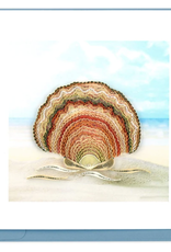 Scallop Shell Quilling Card