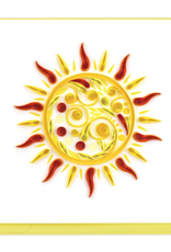 Quilled Sun Quilling Card