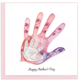 Mother and Child Handprint