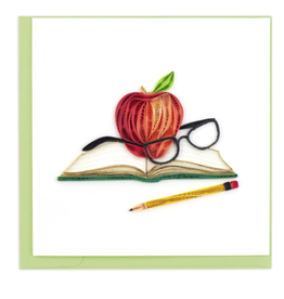 Scholarly Appreciation Quilling Card