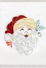 Santa Quilling Gift Tag