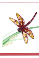 Dragonfly Quilling Card