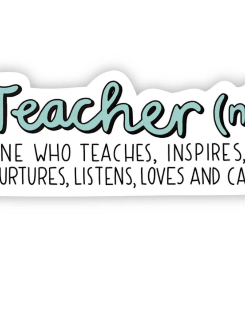 Teacher Definition Sticker