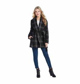 Winchester Plaid Coat Black
