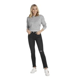 Black Hyde Straight Leg Jeans