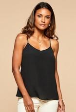 Spartina 449, LLC Cordelia Silk Tank Black