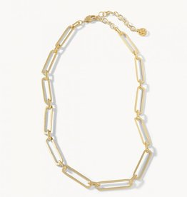 """Spartina 449 Long Link Gold Necklace - 17"""""""