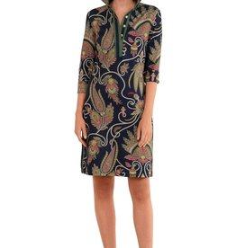 Gretchen Scott Jersey Everywhere Dress Plume - Navy
