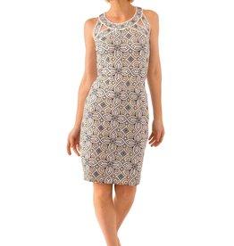 Gretchen Scott Jersey Isosceles Dress - Piazza Neutral