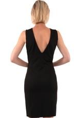 Gretchen Scott Jersey Sublime Dress - Solid Black