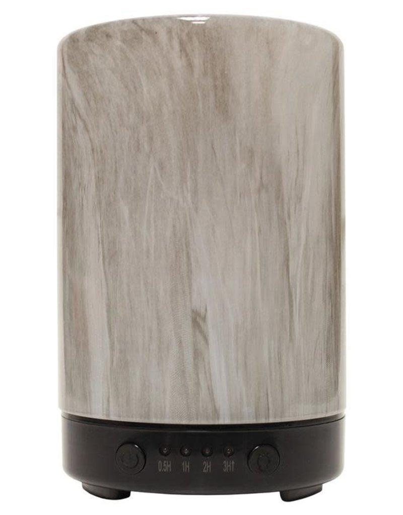 A Cheerful Giver Charcoal Classic Artesian Glass Ultrasonic Diffuser