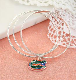 Florida Gator Logo Bangle Bracelets