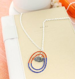 Florida Crystal Loop Necklace