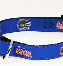 Florida Gators Ribbon Dog Collar