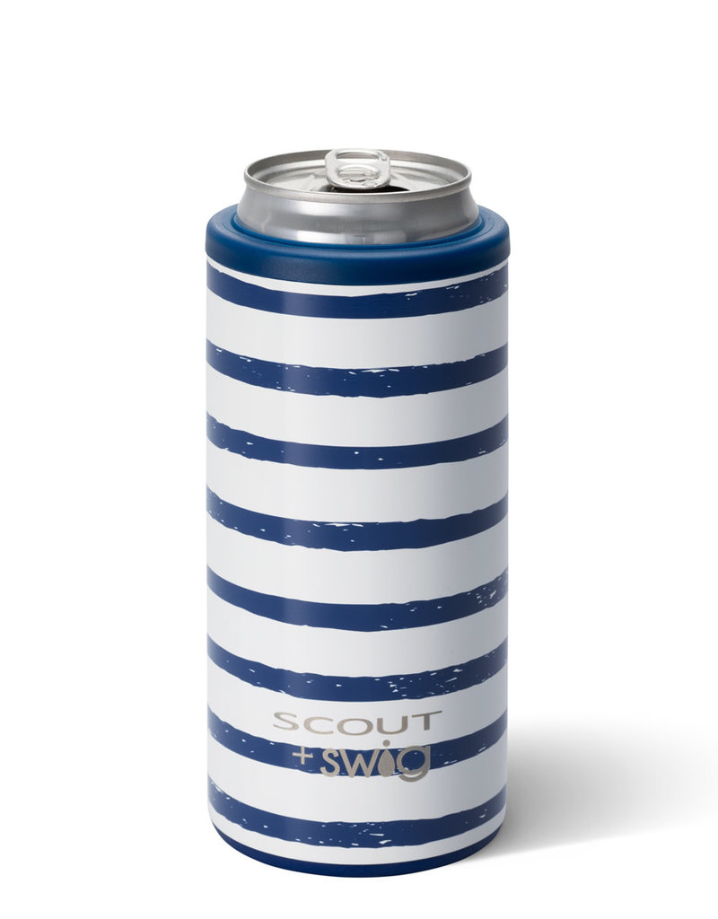 Swig Swig 12oz Skinny Can Cooler- Scout - Ship Shape