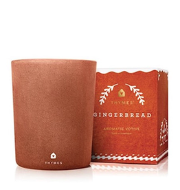 Thymes Gingerbread Votive Candle - 2 oz.