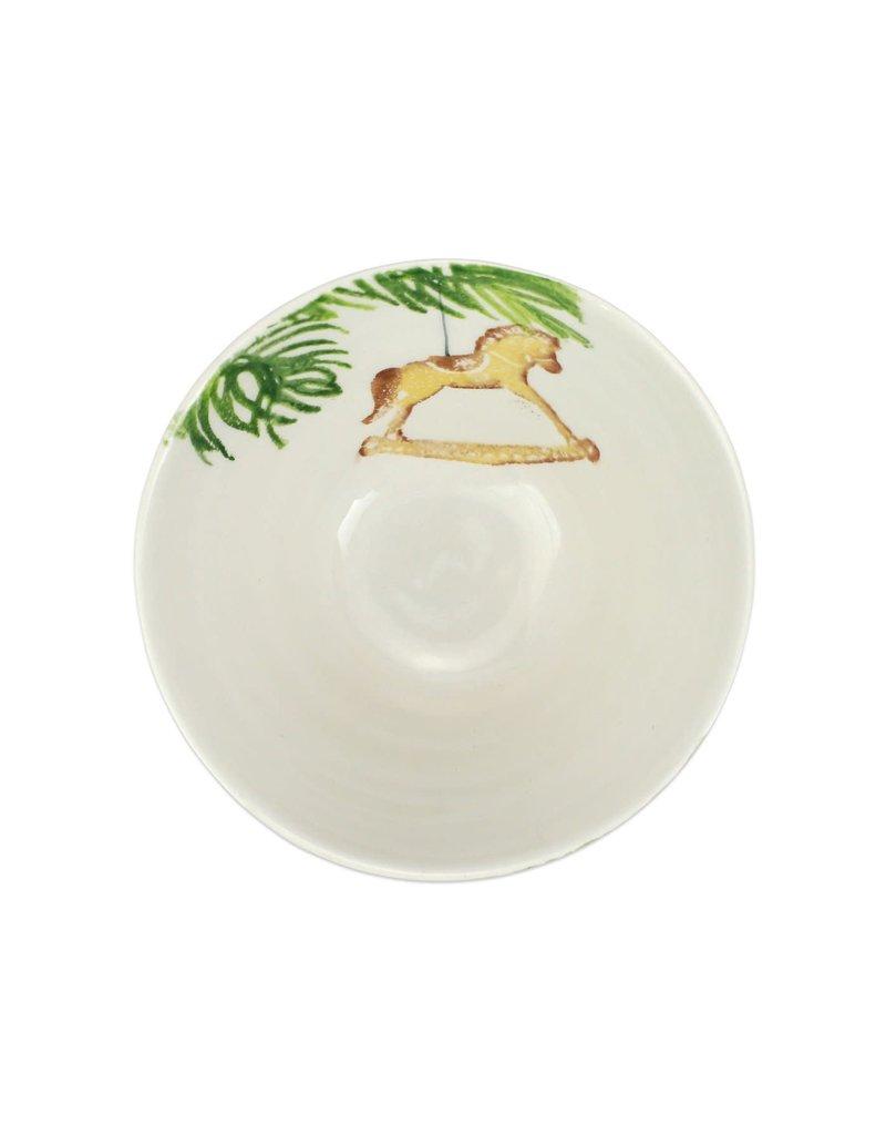 Vietri Nutcracker Cereal Bowl - Horse