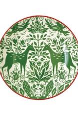 Vietri Mistletoe Pasta Bowl