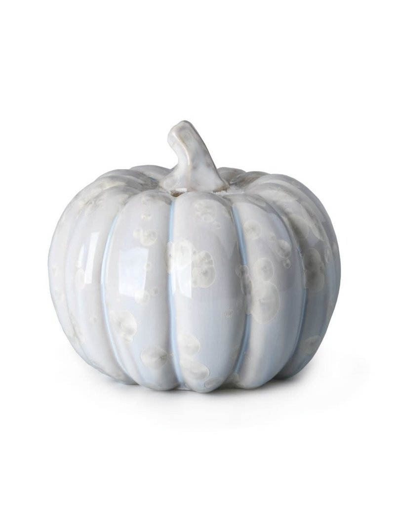 Simon Pearce Crystalline Pumpkin - Medium