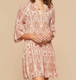 Spartina 449, LLC Maisie Dress - Pink House Boho Paisley