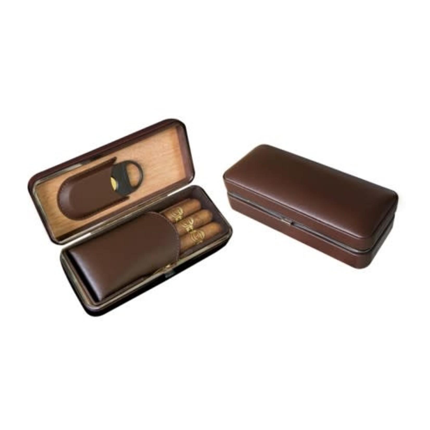 Prestige Import Group 3-cigar Folding Case
