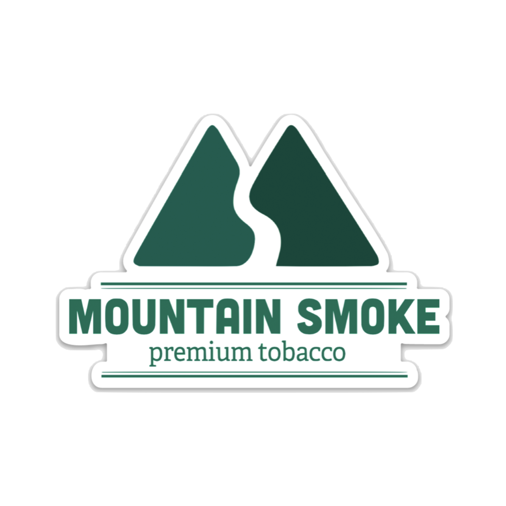 Mountain Smoke Premium Tobacco MSPT Sticker