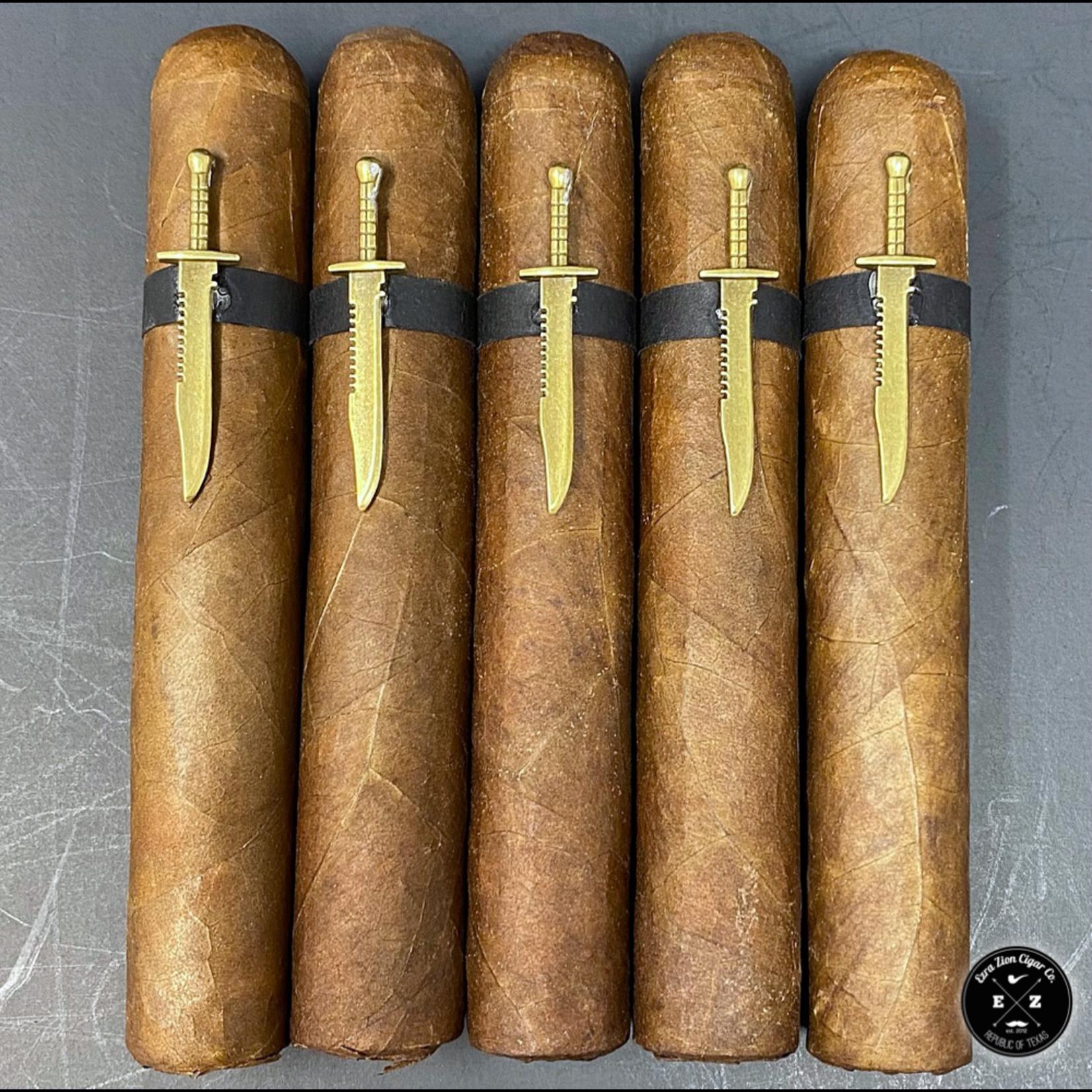 Ezra Zion Cigars Knife Fight XQ Edition
