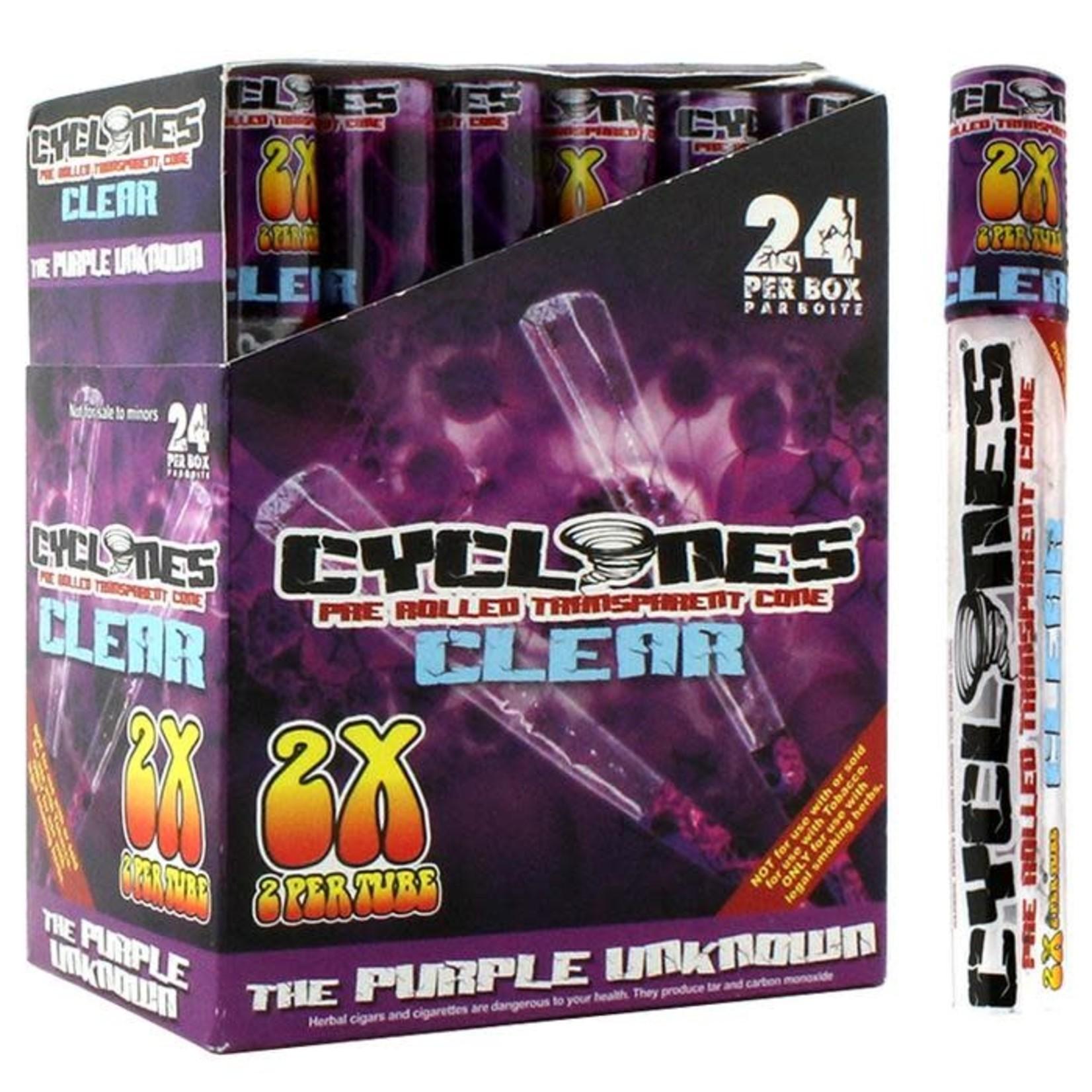 CYCLONES CYCLONES PURPLE UNKNOWN