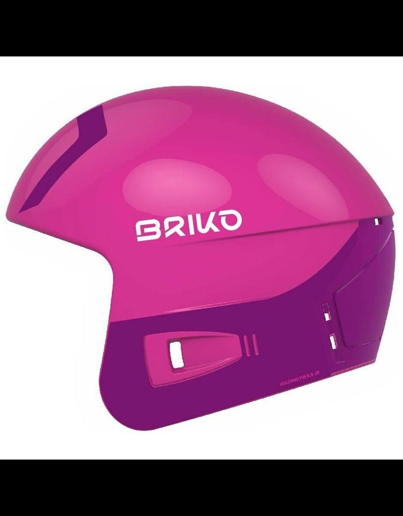 BRIKO BRIKO SKI HELMET VULCANO FIS 6.8 EPP SHINY PINK VIOLET