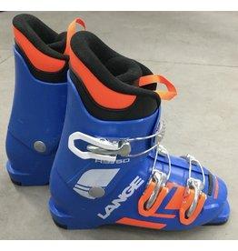 LANGE LANGE SKI BOOT RSJ 50 (POWER BLUE) USED