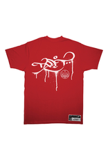 TALL T PRODUCTIONS TALL T PRODUCTION DRIP LOGO RED/WHITE