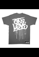 TALL T PRODUCTIONS TALL T PRODUCTION ONE LOVE GREY/WHITE